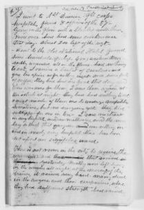 Clara Barton Papers: Diaries and Journals: 1862, Dec.