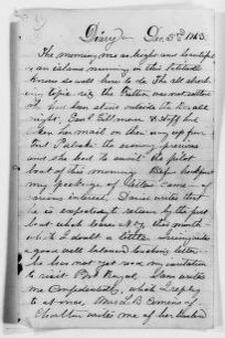 Clara Barton Papers: Diaries and Journals: 1863, Dec. 3-1864, May 7