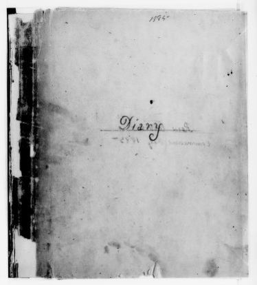 Clara Barton Papers: Diaries and Journals: 1885, Feb.-July
