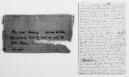 Clara Barton Papers: Diaries and Journals: Diarists other than Barton; Golay, Minna Kupfer, diary notes, 1888, Aug.-1893, Dec.