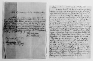 Clara Barton Papers: General Correspondence, 1838-1912; Atwater, Dorence, 1869-1890, Atwater, Dorence