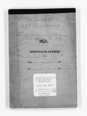Blackwell Family Papers: Alice Stone Blackwell Papers, 1848-1957; Subject File, 1870-1957; Meetings; National American Woman Suffrage Association; Conventions; 1918