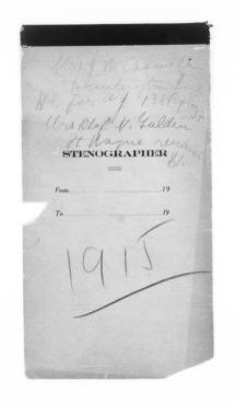 Blackwell Family Papers: Alice Stone Blackwell Papers, 1848-1957; Subject File, 1870-1957; Meetings; Mississippi Valley Conference; 1915