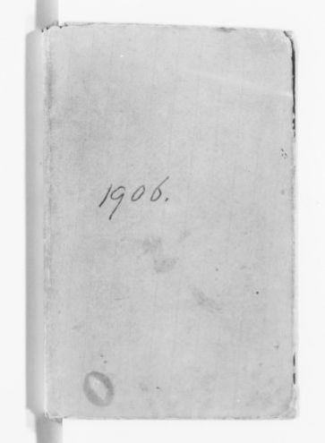 Blackwell Family Papers: Elizabeth Blackwell Papers, 1836-1946; Diaries, 1836-1908; 1906-1908