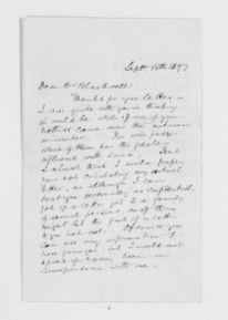 Blackwell Family Papers: Elizabeth Blackwell Papers, 1836-1946; General Correspondence, 1850-1910; Blyth, Edward K.