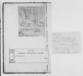 Blackwell Family Papers: Henry Browne Blackwell Papers, 1834-1909; Subject File, 1834-1909; Financial papers; Chronological file; 1879-1881
