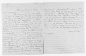 Blackwell Family Papers: Lucy Stone Papers, 1759-1960; Family Correspondence, 1759-1894; Blackwell, Alice Stone; 1893