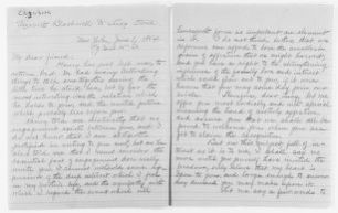 Blackwell Family Papers: Lucy Stone Papers, 1759-1960; Family Correspondence, 1759-1894; Blackwell, Elizabeth
