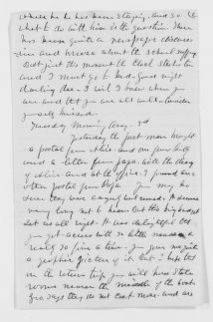 Blackwell Family Papers: Lucy Stone Papers, 1759-1960; Family Correspondence, 1759-1894; Blackwell, Henry Browne; 1879, Aug.-Dec.