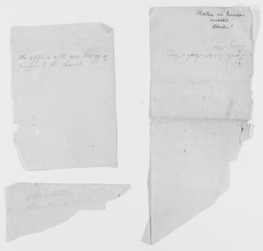 Blackwell Family Papers: Lucy Stone Papers, 1759-1960; Speech, Article, and Book File, 1845-1891; Speeches; Untitled; Undated, 1 of 3