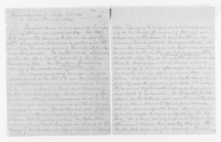 Blackwell Family Papers: Lucy Stone Papers, 1759-1960; Subject File, 1853-1960; Biographical papers; Blackwell, Henry Browne, account; 2 of 3