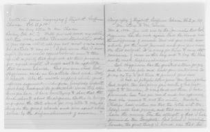 Blackwell Family Papers: Lucy Stone Papers, 1759-1960; Subject File, 1853-1960; Biographical papers; Chace, Elizabeth B., extracts from biography