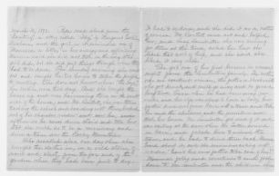 Blackwell Family Papers: Lucy Stone Papers, 1759-1960; Subject File, 1853-1960; Biographical papers; Other biographical material; Childhood; 2 of 2