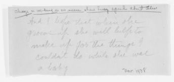 Blackwell Family Papers: Lucy Stone Papers, 1759-1960; Subject File, 1853-1960; Lucy Stone, a Chronicle Play, by Maud Wood Park, circa 1938; Partial script