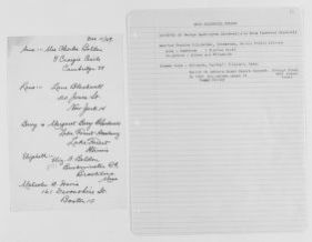 Blackwell Family Papers: Other Blackwell Family Papers, 1834-1945; Anna Blackwell Papers, 1834-1900; Correspondence; General; Belden, Anna