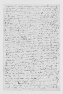 Blackwell Family Papers: Other Blackwell Family Papers, 1834-1945; Anna Blackwell Papers, 1834-1900; Correspondence; General; Unidentified correspondence