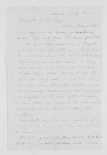Blackwell Family Papers: Other Blackwell Family Papers, 1834-1945; Antoinette Louisa Brown Blackwell Papers, 1846-1929; Correspondence; Family; Blackwell, Henry Browne and Alice Stone