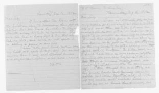 Blackwell Family Papers: Other Blackwell Family Papers, 1834-1945; Antoinette Louisa Brown Blackwell Papers, 1846-1929; Correspondence; Family; Stone, Lucy; 1852