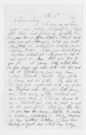 Blackwell Family Papers: Other Blackwell Family Papers, 1834-1945; Sarah Ellen Blackwell Papers, 1840-1901; Correspondence; Stone, Lucy; Undated