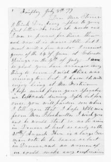 National American Woman Suffrage Association Records: General Correspondence, 1839-1961; Campbell, Margaret W.; 1 of 3
