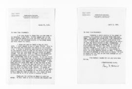 National American Woman Suffrage Association Records: General Correspondence, 1839-1961; Hillard, Mary R.