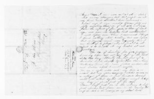 National American Woman Suffrage Association Records: General Correspondence, 1839-1961; Pierce, Philander