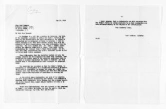 National American Woman Suffrage Association Records: General Correspondence, 1839-1961; Younger, Maud