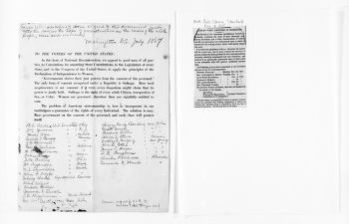 National American Woman Suffrage Association Records: Subject File, 1851-1953; American Anti-Slavery Society