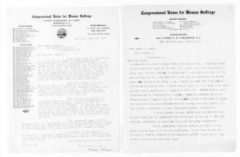 National American Woman Suffrage Association Records: Subject File, 1851-1953; Congressional Union; Stevens, Doris