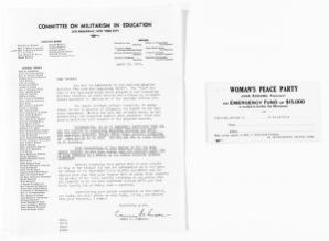 National American Woman Suffrage Association Records: Subject File, 1851-1953; Forbes, Rose D.