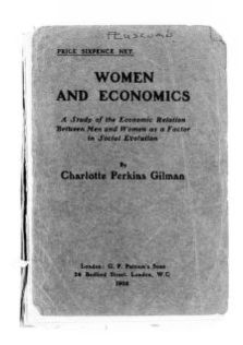 National American Woman Suffrage Association Records: Subject File, 1851-1953; Gilman, Charlotte P.; 2 of 4