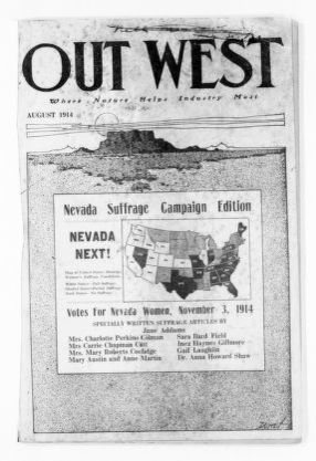 National American Woman Suffrage Association Records: Subject File, 1851-1953; Nevada suffrage associations