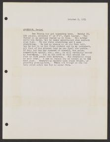 Branch Rickey Papers: Baseball File, 1906-1971; Scouting reports; 1951; A-F