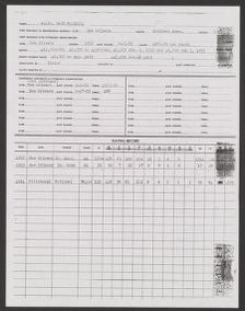 Branch Rickey Papers: Baseball File, 1906-1971; Scouting reports; 1954; A-J
