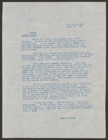 Branch Rickey Papers: Baseball File, 1906-1971; Scouting reports; 1954; L-Z