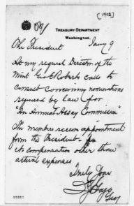 Theodore Roosevelt Papers: Series 1: Letters and Related Material, 1759-1919; 1902, Jan. 9-Feb. 18
