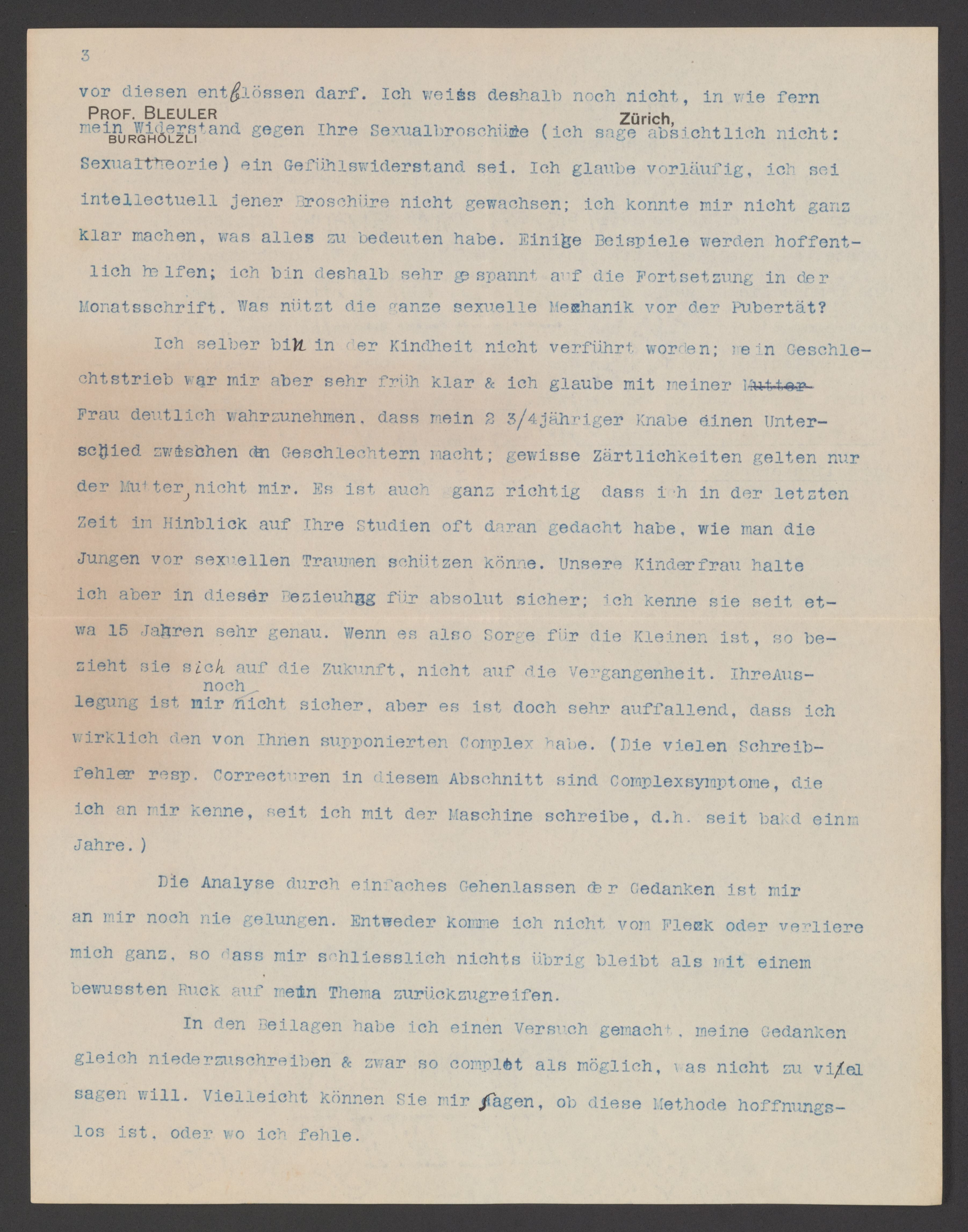 Manuscriptmixed Material Available Online Sigmund Freud