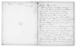 Mary Church Terrell Papers: Diaries, 1888-1951; 1889-1890