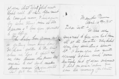 Mary Church Terrell Papers: Family Correspondence, 1890-1955; Annette Church (stepsister), 1915-1953