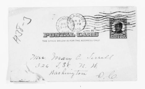 Mary Church Terrell Papers: Correspondence, 1886-1954; 1908, Jan.-June