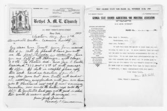 Mary Church Terrell Papers: Correspondence, 1886-1954; 1909 (1 of 2)