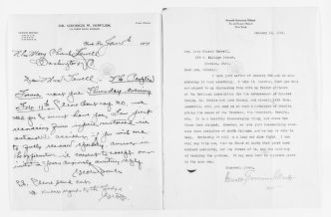Mary Church Terrell Papers: Correspondence, 1886-1954; 1914