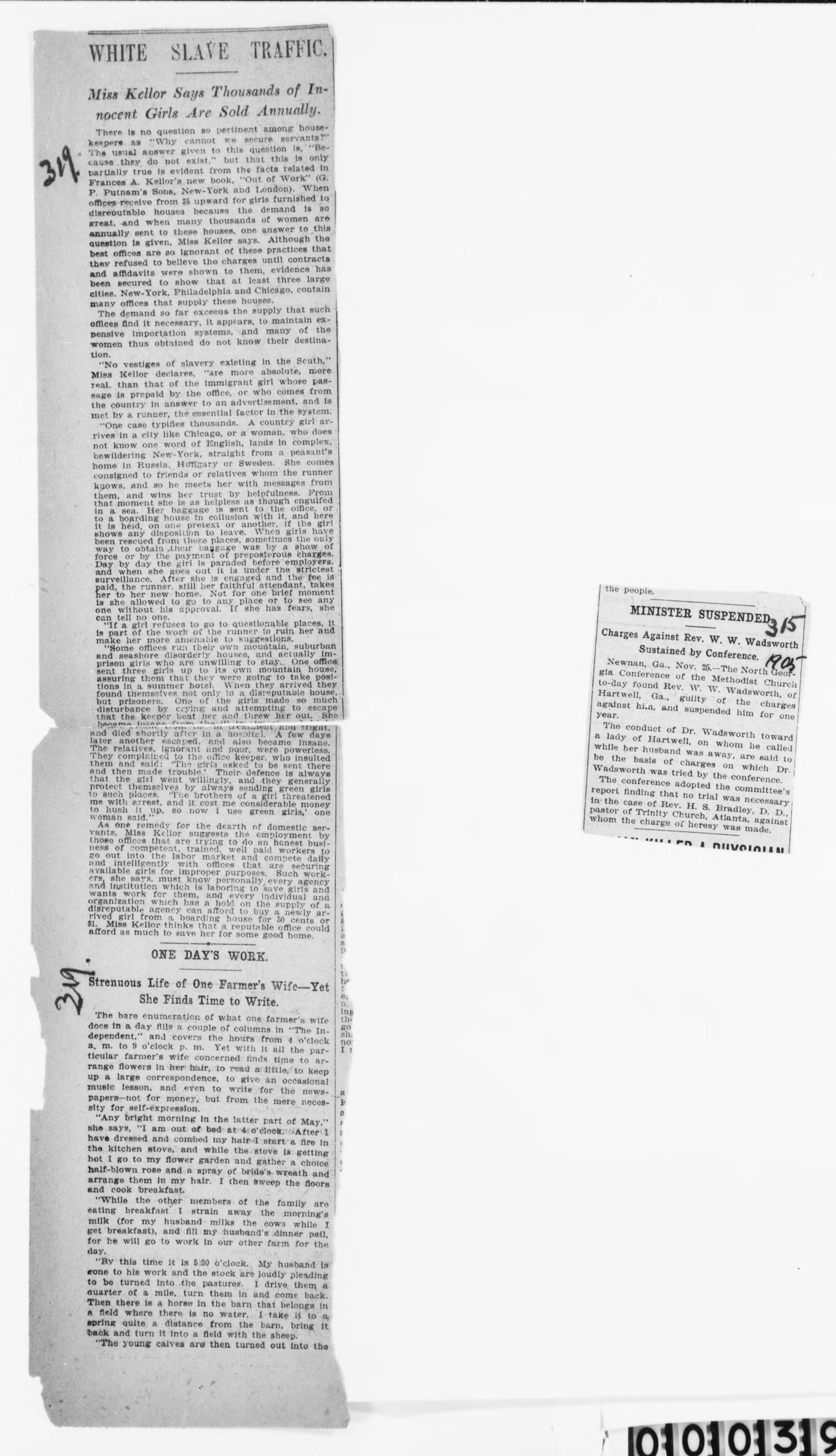 Mary Church Terrell Papers, Mary Church Terrell Papers