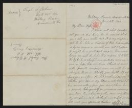 Samuel J. Gibson diary and correspondence, 1864., Letter to wife, 1864, June 12