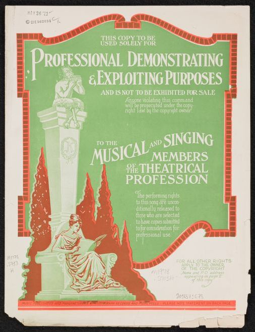 Baseball Sheet Music, Available Online | Library of Congress