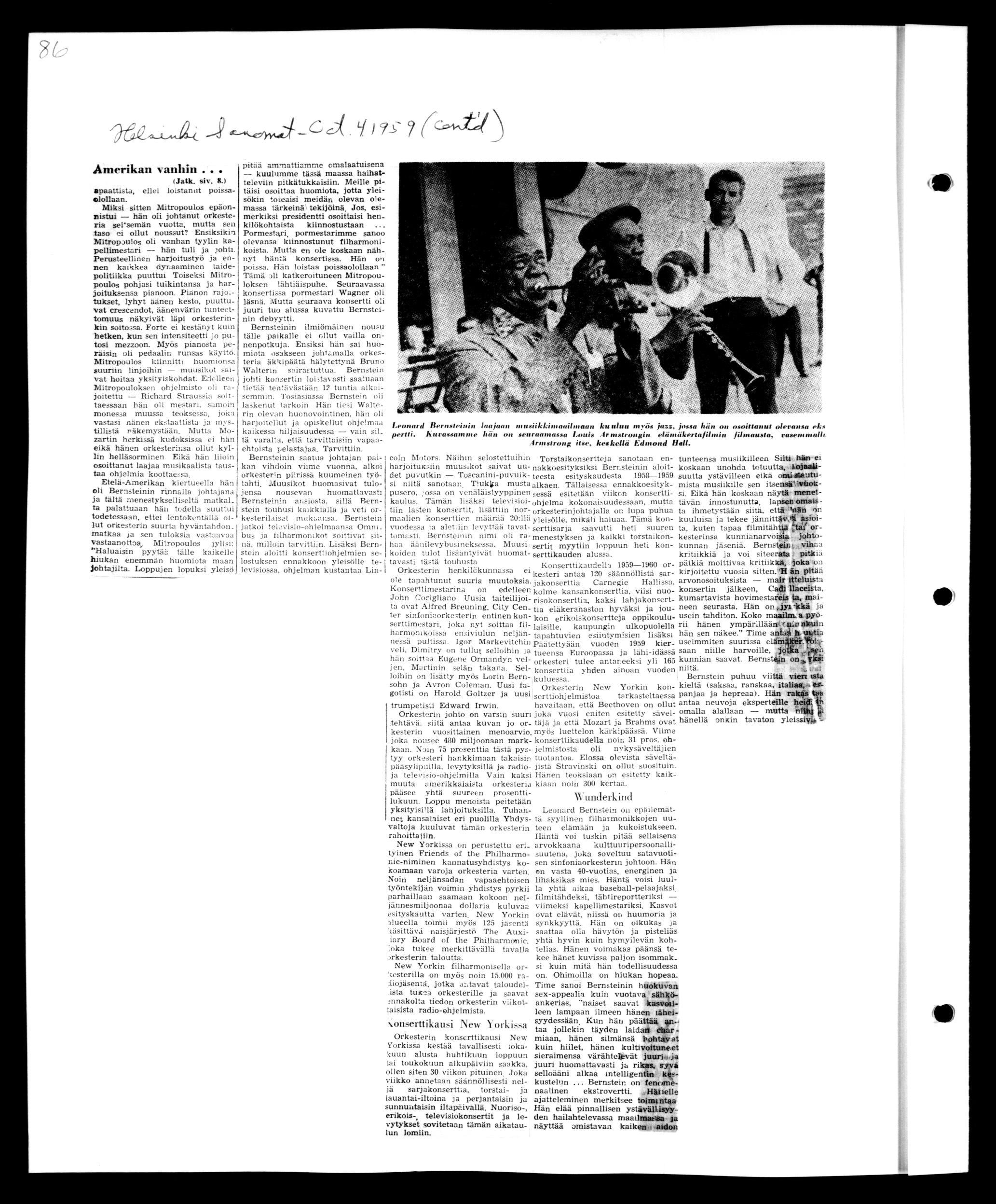 659eceea138f Leonard Bernstein, Leonard Bernstein Scrapbook: Vol. 33. Sept. 25,  1959-Oct. 15, 1959 (musbernstein.100071038.0/) | Library of Congress