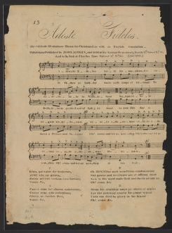 Adeste fideles the celebrated Portuguese hymn for Christmas Day with an English translation