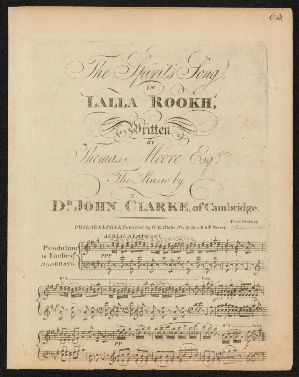 Notated Music, Philadelphia | Library of Congress