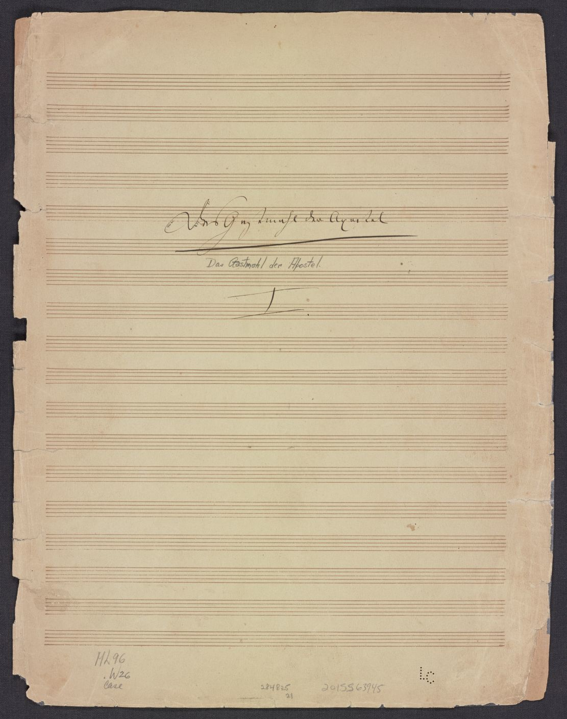 Notated Music Available Online German Library Of Congress