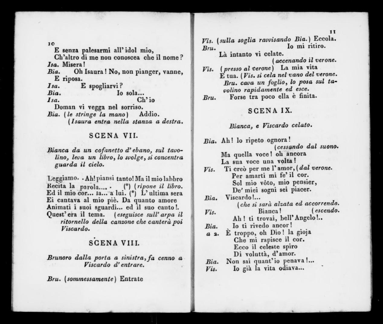 Albert Schatz Collection, 1843, Giuramento  Libretto